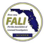 Florida, Texas California Licensed Investigator,